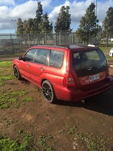 Modded 2003 Subaru Forester XT manual Seaford Morphett Vale Area Preview