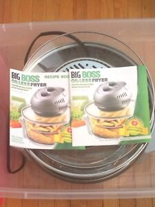 New big boss oil less fryer in plastic tote
