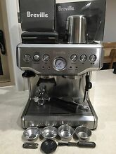 Breville coffee machine BES860 built in grinder Buderim Maroochydore Area Preview