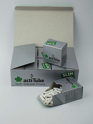 actiTube (Tune) Aktivkohle Filter Slim 7mm 50Stück acti Tube