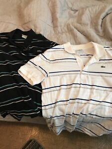 Two Lacoste shirts
