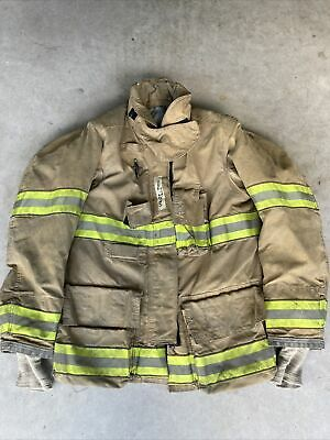 Firefighter Globe Turnout Bunker Coat 43x32 G-xtreme 2006 No Cut Out