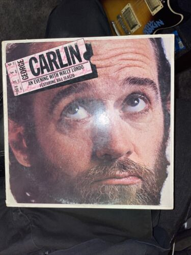 George Carlin LP An Evening With WALLY LONDO Comedy Little David Records Ld1008 - $4.98