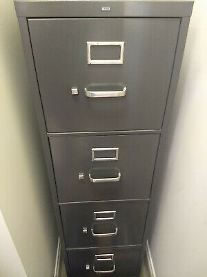 Hon 4-drawer Vertical Metal File Cabinet Wo Lock Only 70 Pick Up Only