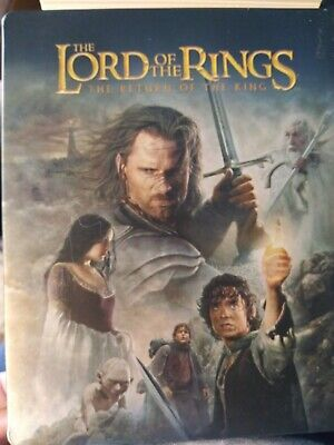 The Lord of the Rings: The Return of the King (Blu-ray/DVD) Steelbook