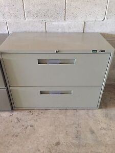 2 Drawer Filing Cabinets - Free Delivery (Business Closed)