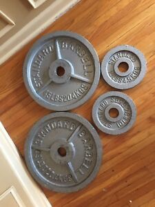 Olympic weight plates 45s , 10s