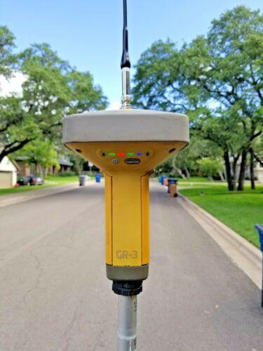 Topcon GR-3 GPS GNSS Glonass UHF II 450-470MHz RTK Base Rover Receiver