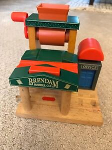 Brendan Barrel Company feature for Thomas Tank Wooden train