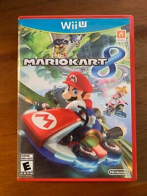 Mario Kart 8 (Nintendo Wii U) Great Condition