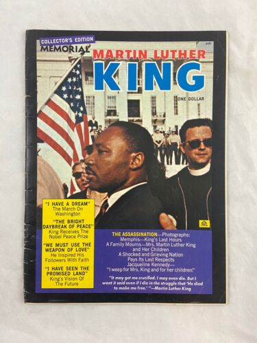 Vintage - Martin Luther King - Memorial Magazine - 1968 - Collector