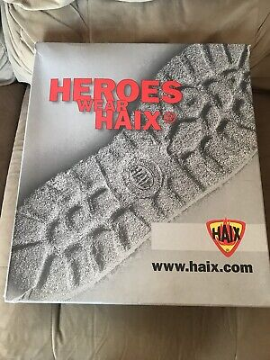 Haix Fire Hunter Xtreme 501605w Fire Boots Size 13 12- Brand New In Box