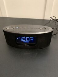iHome Wireless Bluetooth Speaker Alarm Clock iPhone Model IBT31