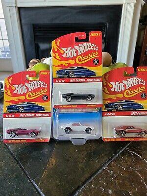 *The Holy Grail best deal Hot Wheels 1995 TREASURE HUNT '67 CAMARO plus 3 extra