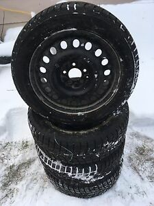 215/55R17 - Winter tires ( bought last year)