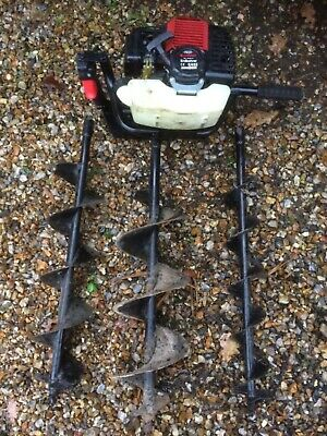 Rotfuchs petrol Auger - Spares or repair (runs but needs looking at)