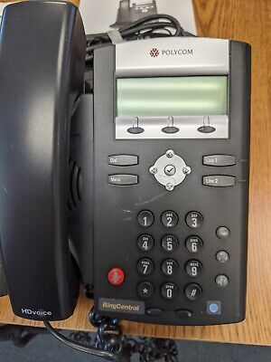 Polycom Ip 321335 Poe Hd Voip Ip Wpower Adapter Internet Cable
