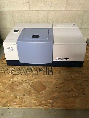 Bruker Ftir Tensor 27 With Cetac Asx-1400 Autosampler Pike Technologies Cell