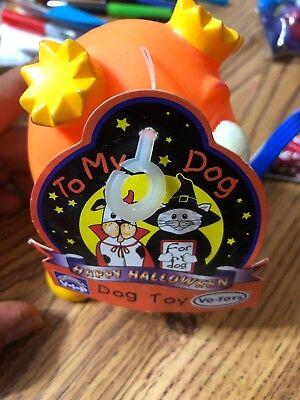 Dog Toys Happy Halloween