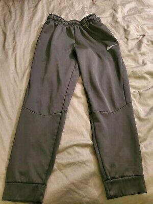 Men's Nike Therma Tapered Pants Dri Fit Medium Black