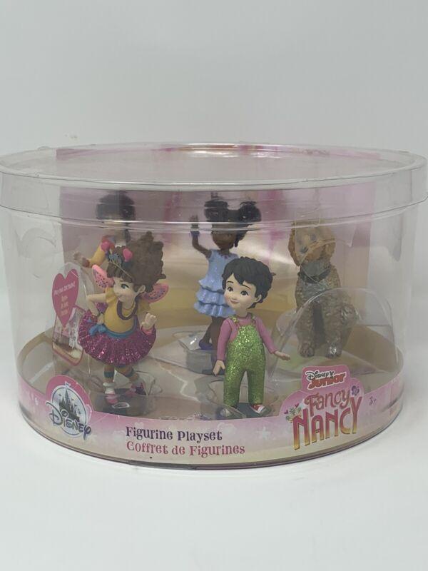 Disney Junior Fancy Nancy Figurine Playset - 5 Figures plus Playmat