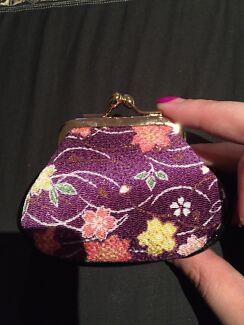 Purple coin purse  Rivervale Belmont Area Preview