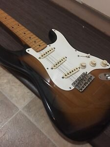 First run Jv stratocaster 57 reissue