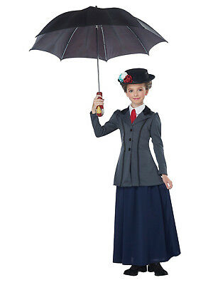 English Nanny - Mary Poppins Child Costume - California Costumes (Mary Poppins Kids Costume)