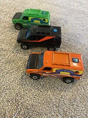 hot wheels blackwall Lot Of 3 Baja Breaker, A Team Van. Nice Lot!