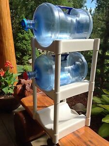 Water Bottle Storage Rack