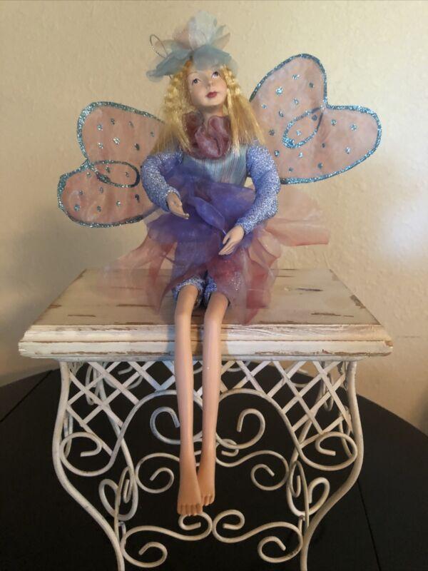 "Fairy Ornament - 12"" - sitting / Hanging, KF5581."