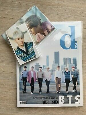 BTS Dispatch 2018 Dicon Magazine + 15 Photo + 10 Post Cards Full Package New