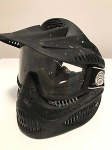 Brass Eagle Paintball Face Guard and Goggles