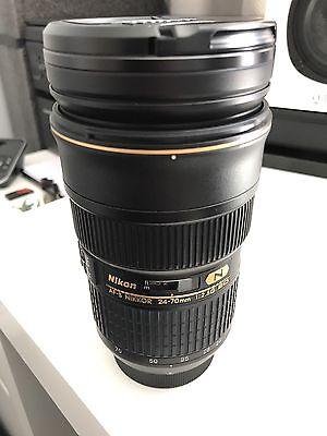 Nikon AF-S Nikkor 24-70mm 1:2.8G ED Lens, Mint Condition, Barely Used for sale  Abingdon