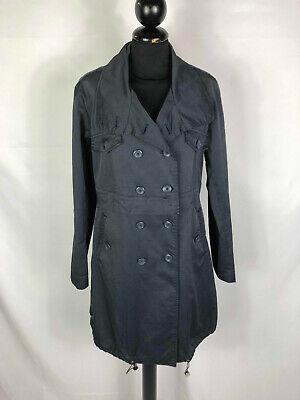 PENNYBLACK Trench Impermeabile Cappotto Donna Cotone Blue Woman Coat Sz.S - 40