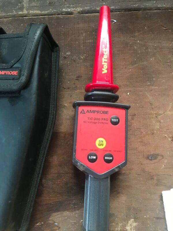 Amprobe TIC 300 PRO/KIT - 30VAC To 122 KV High Voltage Detector