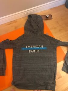 american eagle hoodie men's small