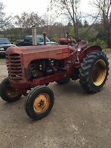 Antique Massey Harris Tractor