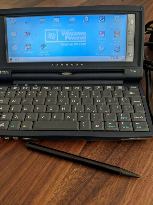 HP Jornada 720 Microsoft Windows Handheld PC 2000