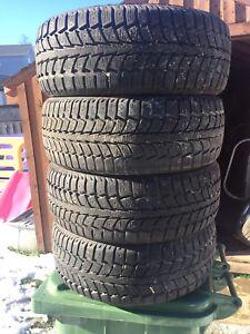 p205/55/16 inch Winter Tires / GOOD TREAD / GOOD DEAL