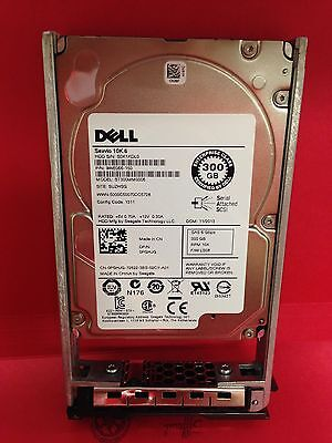 """DELL Seagate 300GB SAS 10k 2.5"""" 6Gbps Hot Plug HDD ST300MM0006 DPN/ PGHJG"""