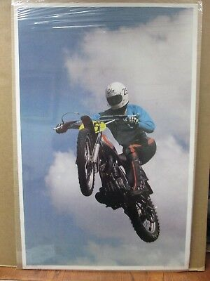 Vintage Moto Dirt Bike motorcycle Flying Cycle 1972 Motocross in#G1118