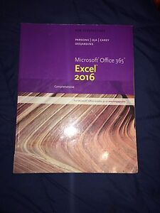Excel 2016 textbook