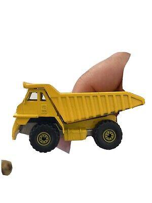 1979 Hot Wheels Caterpillar CAT Dump Truck #1171 (Workhorses Yellow)