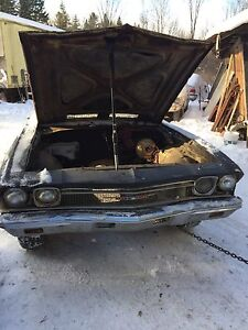 1968 Chevrolet Chevelle SS clone project