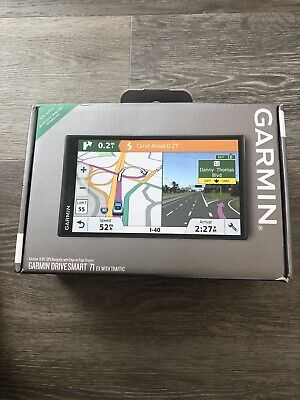 GARMIN 010-02038-03 DRIVESMART  71 EX WITH TRAFFIC GPS NAVIGATOR - BRAND NEW