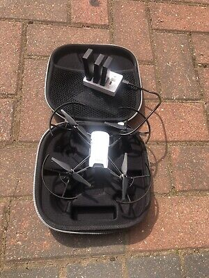 DJI Ryze Tello drone with case and 4 batteriesand charger
