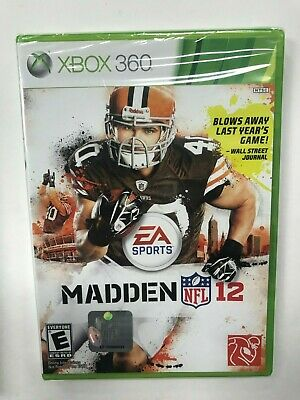 Madden NFL 12 EA Sports Xbox 360 Brand New Sealed NIB Complete CIB Football for sale  Shipping to Nigeria