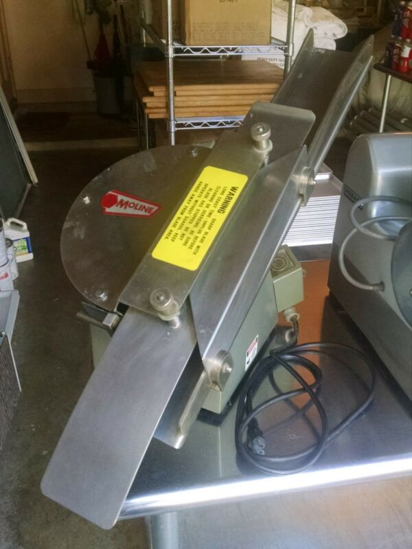 Moline Model 260 Commercial Bun and Bagel Slicer