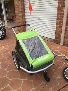 Croozer Kid for 2 Bike Trailer Dural Hornsby Area Preview